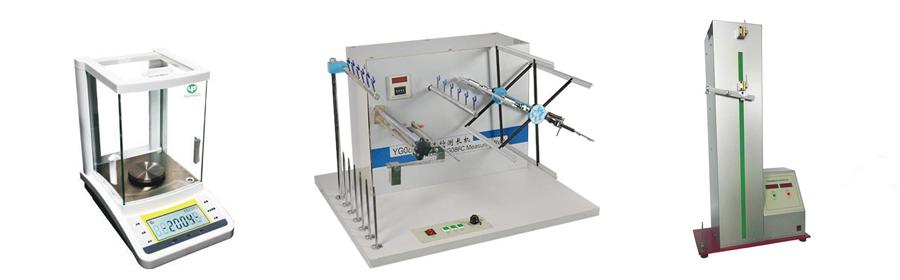 multifilament yarn testing unit