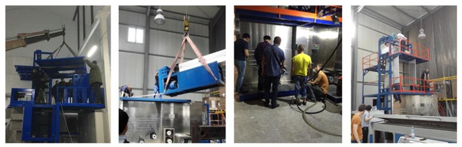 JM181 Polypropylene spinning drafting machine