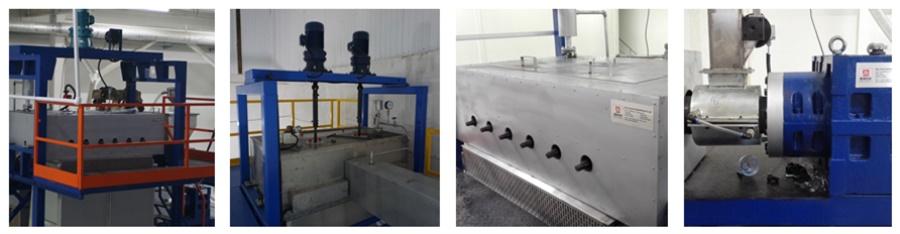 JM161 Polypropylene fiber stretching machine