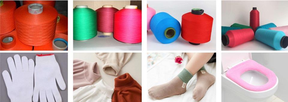 PP Polypropylene DTY draw texturing yarn machine