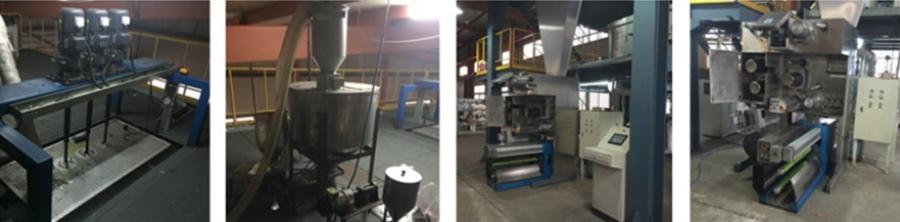 BCF PP Polyester carpet multifilament yarn spinning machine