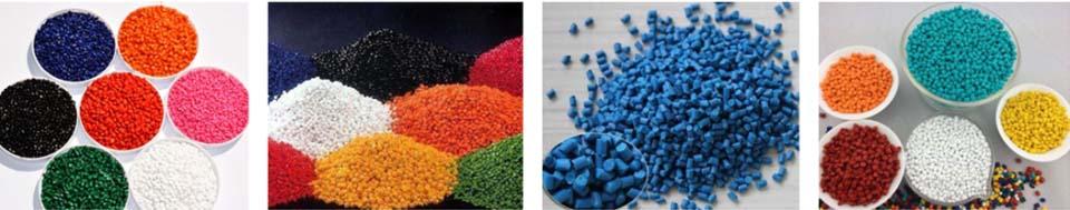 High Concentration PE / PP / PA / PET / PS / ABS / PVC/ PC / PU / EVA Color Masterbatch