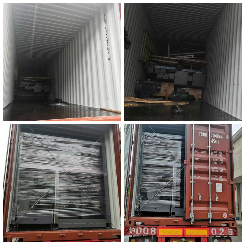 Jiamei PP spinning machines delivered to Brazil