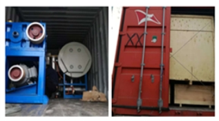 JM161 FDY yarn spinning line exported to Mexico on 29th, November