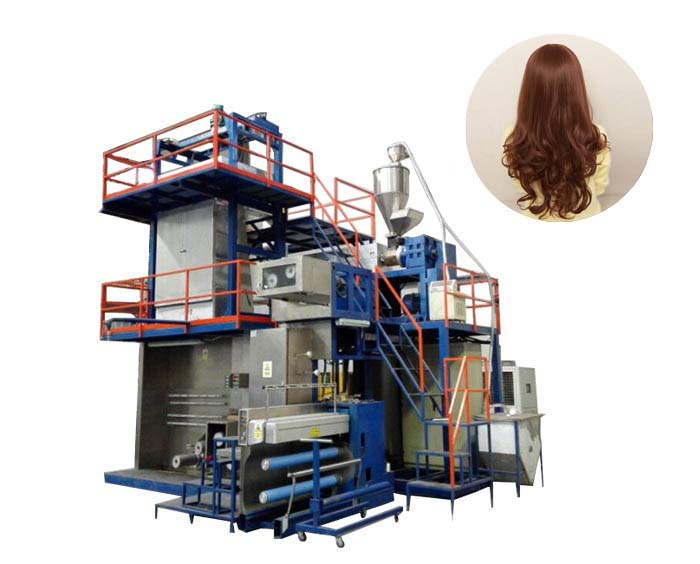 FDY PP Polypropylene wig yarn synthetic hair making machine