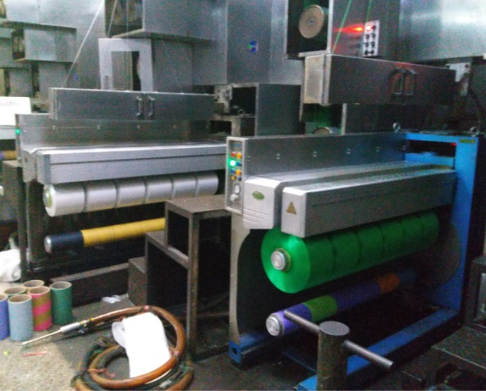 Automatic doffing take up winder for FDY/BCF/POY/CF yarn spinning machine