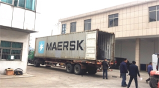 Warmly celebrate delivered PP Polypropylene spinning machine to India
