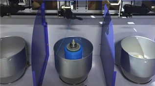 Maintenance tips of multifilament yarn twisting machine
