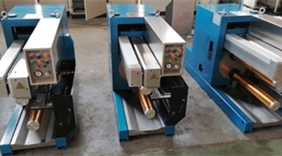 Warmly celebrate delivered 3 multifilament yarn winders with operating platform to Spain !