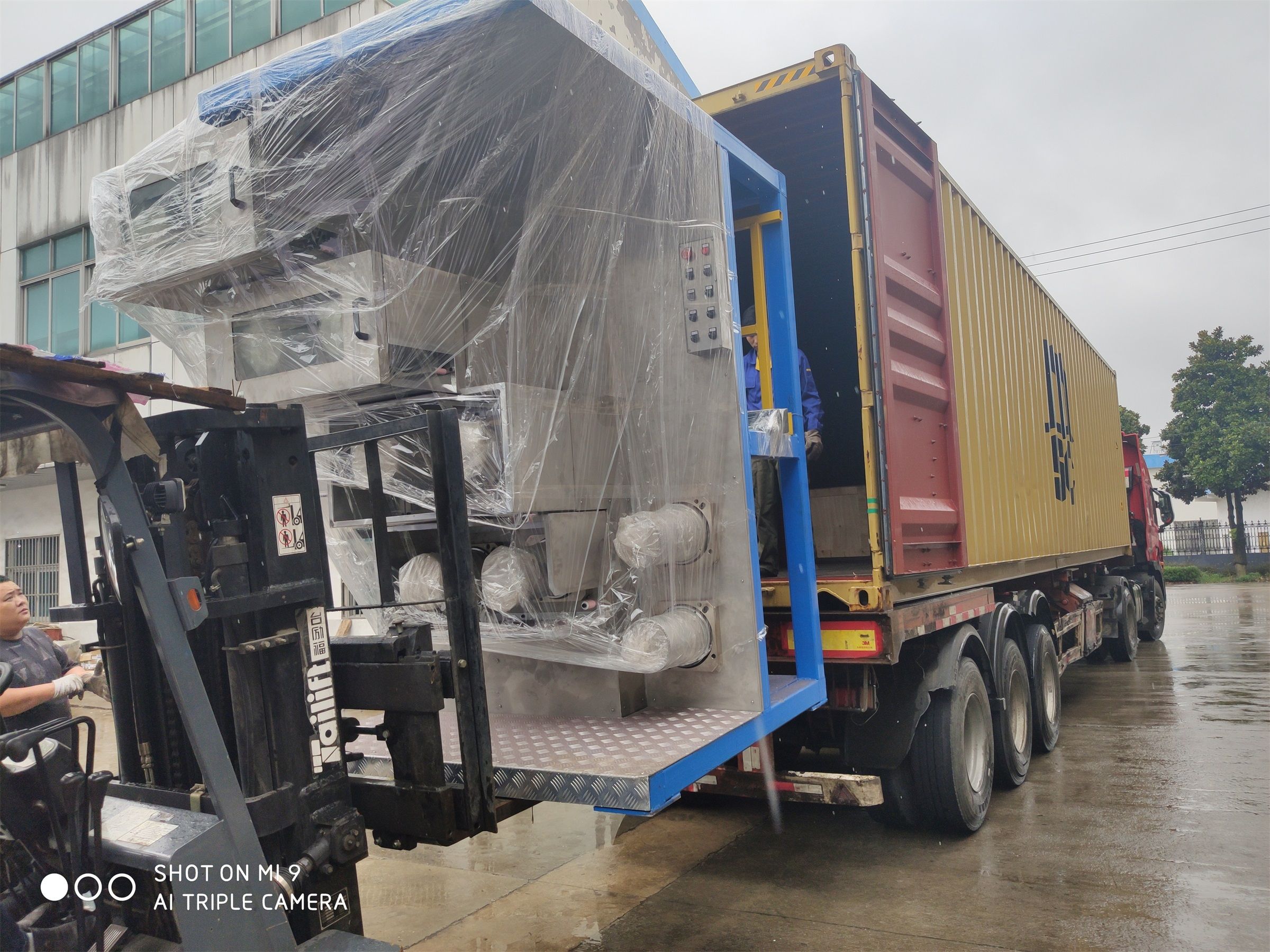 JM161 spinning machine delivered to Mexico