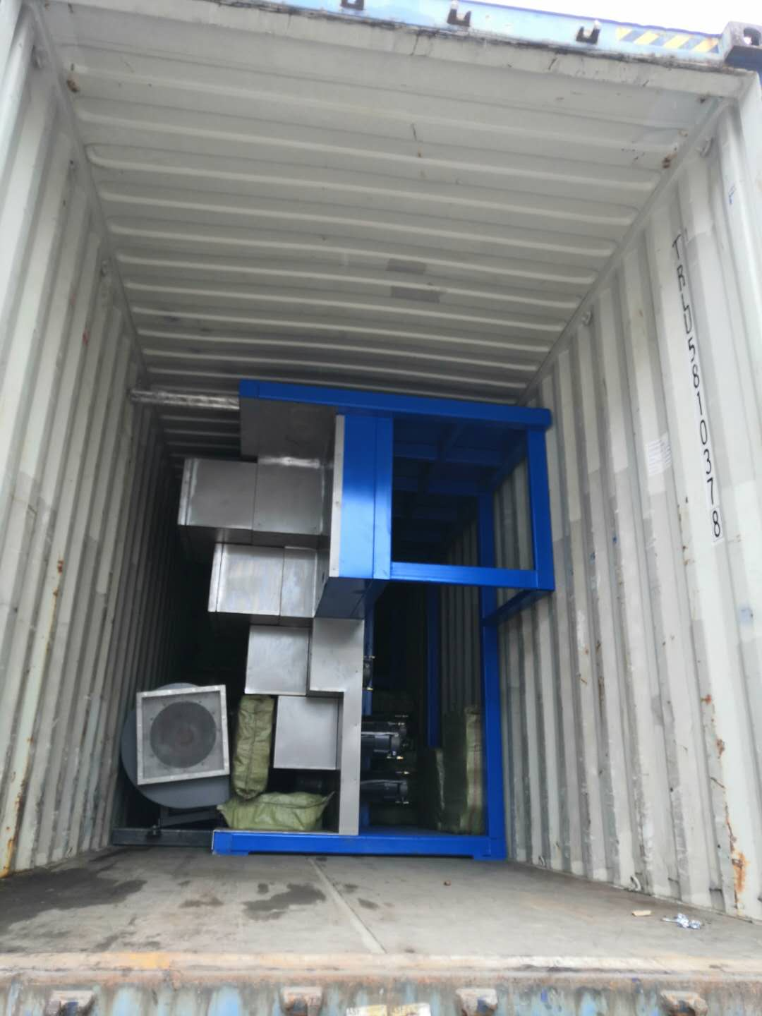 PP spinning machines exported to Uzbek customers