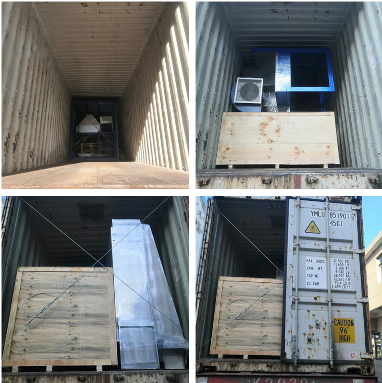 Argentine customer  PP spinning machine delivery